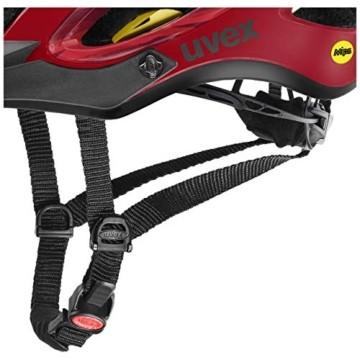 Uvex Unisex– Erwachsene, unbound Fahrradhelm, camo red black mat, 54-58 cm - 2