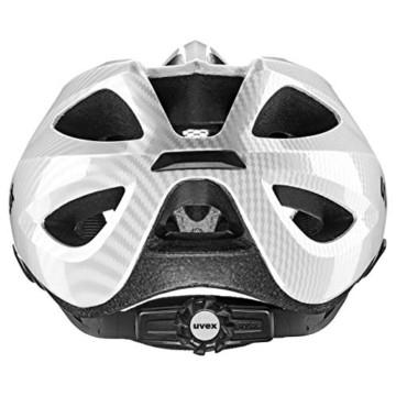 Uvex Unisex - Erwachsene, Viva 3 Fahrradhelm, Carbon Look White. 52-57 cm … - 2