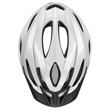 Uvex Unisex - Erwachsene, Viva 3 Fahrradhelm, Carbon Look White. 52-57 cm … - 4