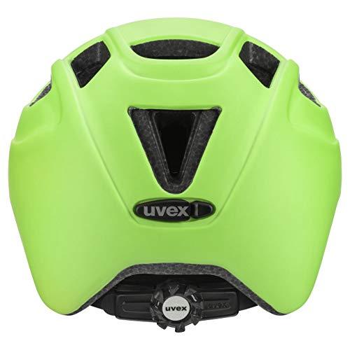 Uvex Unisex Jugend, finale jr. cc Fahrradhelm, green mat, 51-55 cm - 3