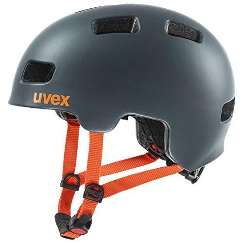 Uvex Unisex Jugend, hlmt 4 cc Fahrradhelm, petrol mat, 55-58 cm - 1