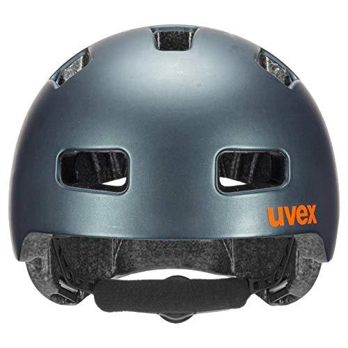 Uvex Unisex Jugend, hlmt 4 cc Fahrradhelm, petrol mat, 55-58 cm - 2