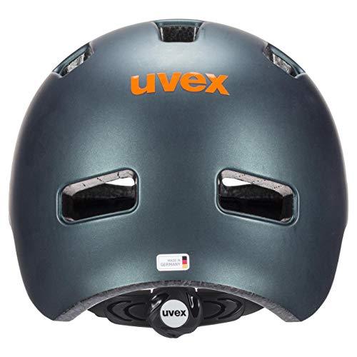 Uvex Unisex Jugend, hlmt 4 cc Fahrradhelm, petrol mat, 55-58 cm - 4