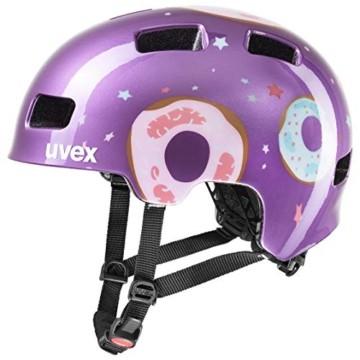Uvex Unisex Jugend, hlmt 4 Fahrradhelm, purple, 51-55 cm - 1