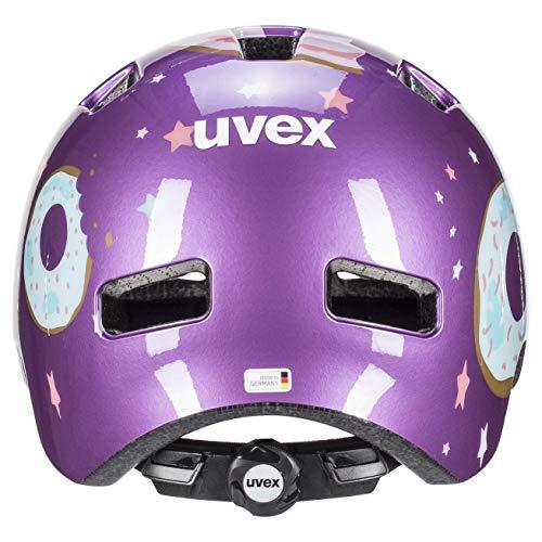 Uvex Unisex Jugend, hlmt 4 Fahrradhelm, purple, 51-55 cm - 2