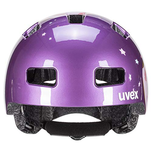 Uvex Unisex Jugend, hlmt 4 Fahrradhelm, purple, 51-55 cm - 3