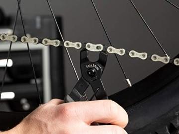 3min19sec Kettenverschlussgliedzange - 2 in 1 Kettengliedzange zum öffnen und schließen von Fahrrad Kettenschlössern - Fahrrad Kettenzange für Mountainbike und Rennrad - 4