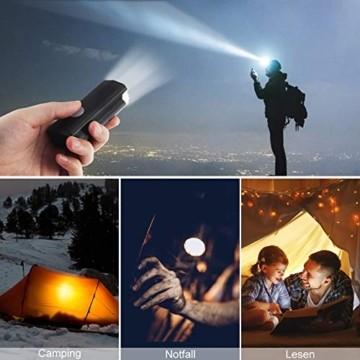 Abenteurer Fahrradlicht LED USB Set, Fahrradlampe Stvzo Zugelassen Vorne Fahrradbeleuchtung, Aufladbar Fahrradlichter Rücklicht Wiederaufladbare mit 2 Licht-Modi Fahrradlampensets - 7