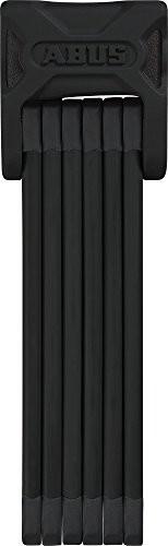 ABUS Faltschloss Bordo 6000/90 mit Halterung - Fahrradschloss aus gehärtetem Stahl - Sicherheitslevel 10 - 90 cm - 72983 - Schwarz - 1