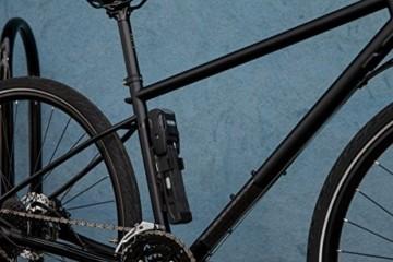 ABUS Faltschloss Bordo Alarm 6000A/90 mit Halterung - Fahrradschloss aus gehärtetem Stahl - mit Warnton - Sicherheitslevel 10 - 90 cm - 77838 - Schwarz - 5