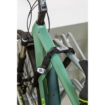 ABUS Kettenschloss Steel-O-Chain 880/85 – Fahrradschloss aus gehärtetem Stahl – Sicherheitslevel 8 – 85 cm – 43306 – Schwarz - 2