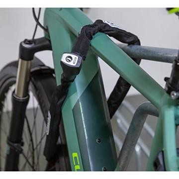 ABUS Kettenschloss Steel-O-Chain 880/85 – Fahrradschloss aus gehärtetem Stahl – Sicherheitslevel 8 – 85 cm – 43306 – Schwarz - 5