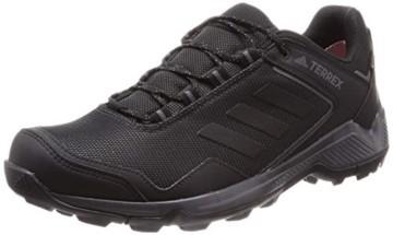 adidas Mens Terrex EASTRAIL GTX Trekking Shoes, Black, 46 EU - 1