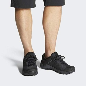 adidas Mens Terrex EASTRAIL GTX Trekking Shoes, Black, 46 EU - 7