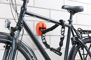 AXA Linq City Fahrradschloss, schwarz, One Size - 3