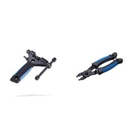 BBB Cycling Nautilus II Kettennietdrückerfür Fahrräder bis zu 11 Geschwindigkeiten, BTL-05 & Cycling LinkFix Kettengliedzange für Fahrräder, BTL-77 - 1