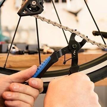 BBB Cycling Nautilus II Kettennietdrückerfür Fahrräder bis zu 11 Geschwindigkeiten, BTL-05 & Cycling LinkFix Kettengliedzange für Fahrräder, BTL-77 - 4