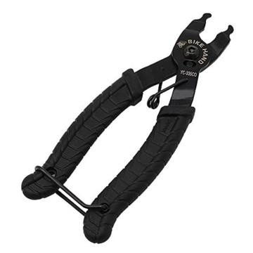 BeiLan Zange Kette Werkzeuge, Werkzeug Kettenverschlussgliedzange Kette Zange Fehlt Link 2 in 1 Opener Schließer Zange/Bike Kette Werkzeug - 2