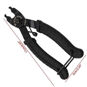 BeiLan Zange Kette Werkzeuge, Werkzeug Kettenverschlussgliedzange Kette Zange Fehlt Link 2 in 1 Opener Schließer Zange/Bike Kette Werkzeug - 6