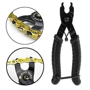 BeiLan Zange Kette Werkzeuge, Werkzeug Kettenverschlussgliedzange Kette Zange Fehlt Link 2 in 1 Opener Schließer Zange/Bike Kette Werkzeug - 7
