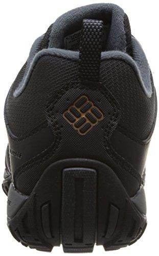 Columbia Herren Peakfreak Nomad Waterproof Schuhe, Schwarz, Karamell (Black, Caramel), 10 - 2