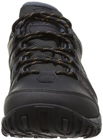 Columbia Herren Peakfreak Nomad Waterproof Schuhe, Schwarz, Karamell (Black, Caramel), 10 - 3