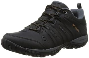 Columbia Herren Peakfreak Nomad Waterproof Schuhe, Schwarz, Karamell (Black, Caramel), 10 - 1