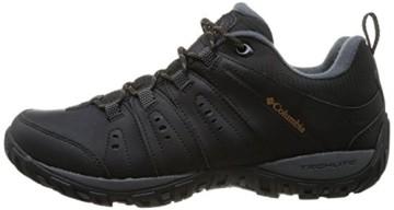 Columbia Herren Peakfreak Nomad Waterproof Schuhe, Schwarz, Karamell (Black, Caramel), 10 - 6