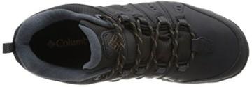 Columbia Herren Peakfreak Nomad Waterproof Schuhe, Schwarz, Karamell (Black, Caramel), 10 - 8
