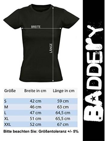 Damen Fahrrad T-Shirt: Bikes of The World Organize ! - Tailliert - Fahrrad Geschenke für Frauen Radfahrerinnen Mountain-Bike MTB BMX Fixie Rennrad Tour Outdoor Sport Frau Urban (Grün XL) - 4