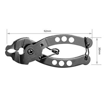 Falliback Zange Kette Werkzeuge, Fahrradkettenzange, Werkzeug Kettenverschlussgliedzange, Fahrrad Ketten Werkzeug + Ketten Prüfer, Für Chains Reparatur - 3