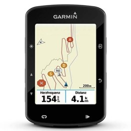 "Garmin Edge 520 Plus GPS-Fahrradcomputer - Leistungswerte, Navigationsfunktionen, Europakarte, 2,3"" Display - 1"