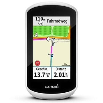 """Garmin Edge Explore GPS-Fahrrad-Navi - Vorinstallierte Europakarte, Navigationsfunktionen, 3"""" Touchscreen, einfache Bedienung - 1"""