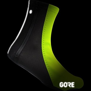 GORE Wear Unisex Winddichte Fahrrad-Überschuhe, C5 WINSTOPPER Thermo Overshoes, Größe: 45-47, Farbe: Neon-Gelb/Schwarz, 100392 - 2