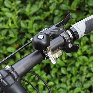 HASAGEI Fahrradglocke Classic Fahrradklingel für Straßenfahrräder, Mountainbikes, BMX-Räder - 8