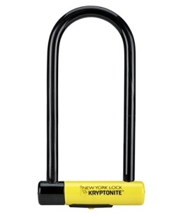 Kryptonite New York LS Fahrradschloss, robust, U-Form, unisex, SperrenSchloss, GK002161, gelb, Long Shackle - 1