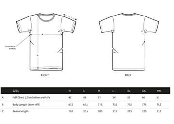MadCotton Herren T-Shirt, Bike, Bio-Baumwolle, Fair gehandelt (Grau, L) - 2