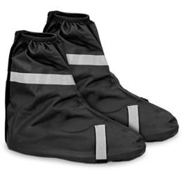 Navaris Schuh-Überzieher Überschuhe Regenschutz Gamaschen - Schutz vor Regen und Schmutz - wasserdicht - für Damen und Herren - versch. Größen - 1