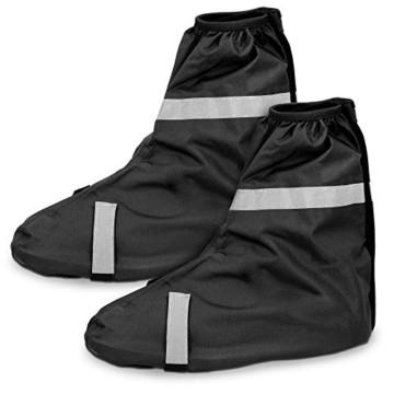 Navaris Schuh-Überzieher Überschuhe Regenschutz Gamaschen - Schutz vor Regen und Schmutz - wasserdicht - für Damen und Herren - versch. Größen - 5