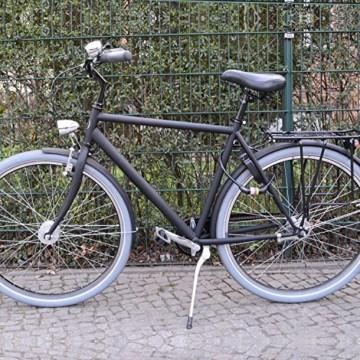 nean Fahrradschloss für Kinder, Zahlen-Code-Kombination-Kabel-Schloss, Schwarz, 10 x 650 mm - 7
