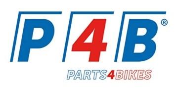P4B | 1x Mini Fahrradklingel in Schwarz | Montage am Lenker | Stahl Fahrradglocke - Laut und Klar - 3