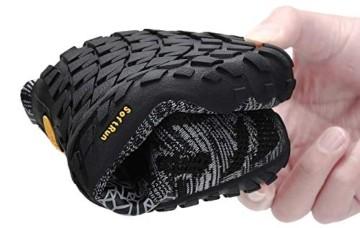 SAGUARO Barfuß Trail Laufschuhe Männer Frauen Fahrradschuhe barfussschuhe Weich Bequem Fitnessschuhe Trainingsschuhe für Joggen Laufen Wandern(034 Schwarz, 44 EU) - 3