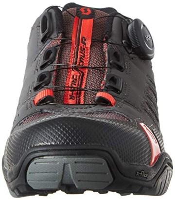 Scott Herren Sport Crus-R Boa Mountainbike Schuhe, Grau (Anthracite/Red 001), 44 EU - 2