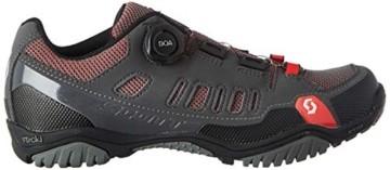 Scott Herren Sport Crus-R Boa Mountainbike Schuhe, Grau (Anthracite/Red 001), 44 EU - 3