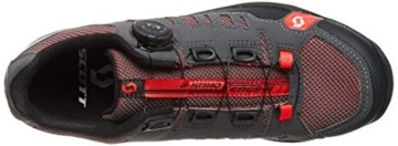 Scott Herren Sport Crus-R Boa Mountainbike Schuhe, Grau (Anthracite/Red 001), 44 EU - 4