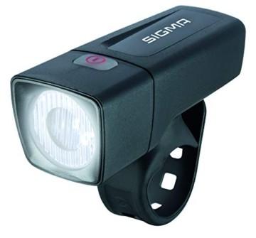 Sigma Sport LED Batterie Fahrradbeleuchtung AURA 25 / CUBIC Set 25 LUX / 400 m Sichtbarkeit batteriebetriebene Fahrradlampe + Rücklicht StVZO zugelassen Schwarz - 5