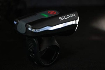 Sigma Sport LED Fahrradbeleuchtung-Set AURA 60 USB/NUGGET II, Frontlicht und Rücklicht, StVZO Zulassung, Akku wiederaufladbar, wasserdicht - 2