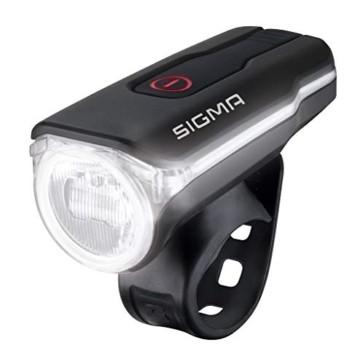 Sigma Sport LED Fahrradbeleuchtung-Set AURA 60 USB/NUGGET II, Frontlicht und Rücklicht, StVZO Zulassung, Akku wiederaufladbar, wasserdicht - 5