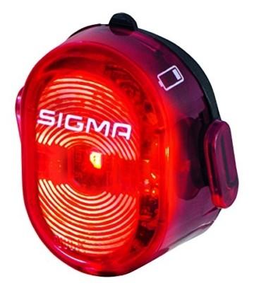 Sigma Sport LED Fahrradbeleuchtung-Set AURA 60 USB/NUGGET II, Frontlicht und Rücklicht, StVZO Zulassung, Akku wiederaufladbar, wasserdicht - 6