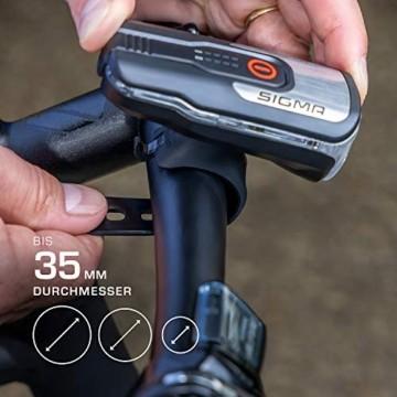 SIGMA SPORT - LED Fahrradlicht Set Aura 80 und BLAZE | StVZO zugelassenes, akkubetriebenes Vorderlicht und Rücklicht mit Bremsfunktion - 3